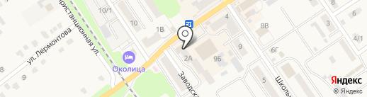 Подразделения лицензионно-разрешительной работы в районах г. Тулы и Тульской области на карте Донского