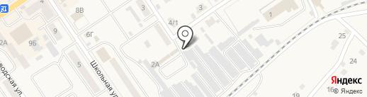 Автостоянка на карте Донского