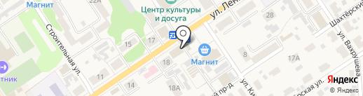Здравия на карте Донского
