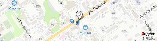 Киоск по продаже печатной продукции на карте Донского
