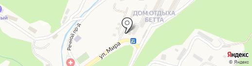 Сбербанк, ПАО на карте Геленджика