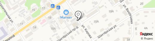 Рынки МО г. Донской, МУП на карте Донского