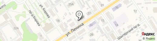 Рыбачок на карте Донского
