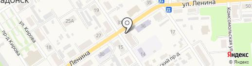 Каприз на карте Донского