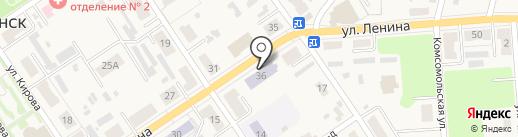 Детская школа искусств №1 на карте Донского