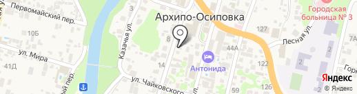 Ташкент на карте Геленджика