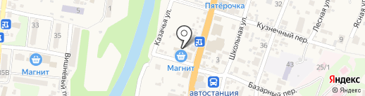 Автомир на карте Геленджика
