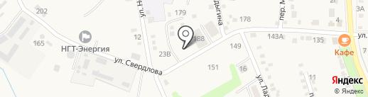 Почтовое отделение №231 на карте Ильского