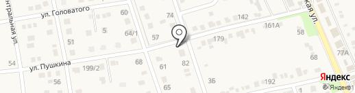 Берлога на карте Ильского