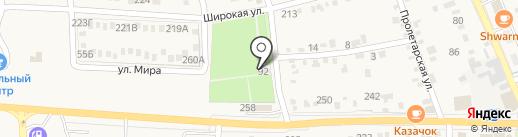 Ильский питомник декоративных растений на карте Ильского