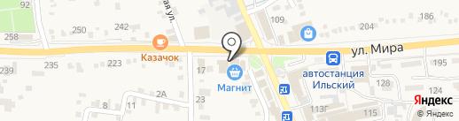 Магнит на карте Ильского