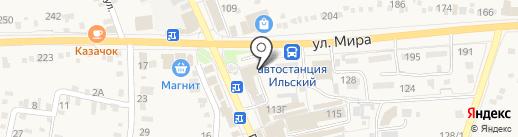 Qiwi на карте Ильского