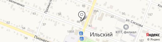 Сбербанк, ПАО на карте Ильского