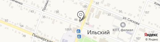 Почтовое отделение №230 на карте Ильского