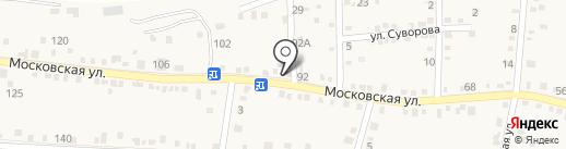 На Московской на карте Ильского