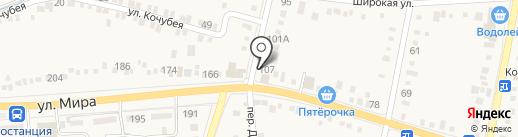 Магазин автозапчастей на карте Ильского