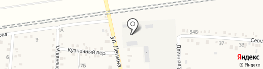 Ильское на карте Ильского