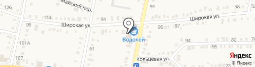 Добродея на карте Ильского