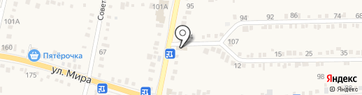 Агросистема на карте Ильского