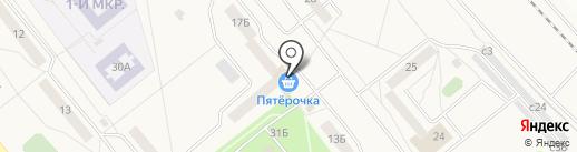 Пятерочка на карте Давыдово