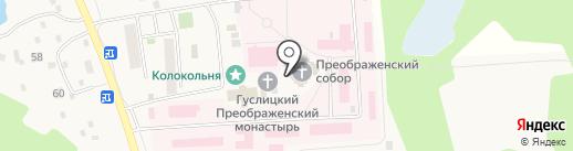 Собор Преображения Господня на карте Куровского
