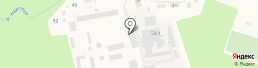 Эфедра на карте Куровского