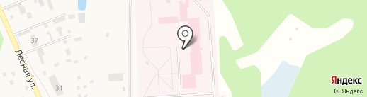Куровской психоневрологический интернат на карте Куровского