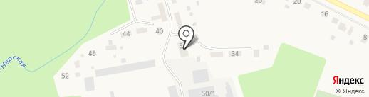 Анциферовское участковое лесничество на карте Куровского
