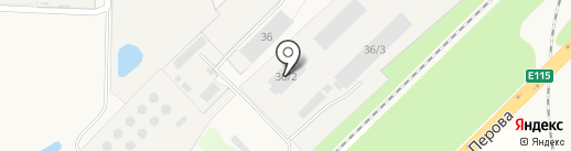 Югмонтажэлектрокомплект на карте Энема