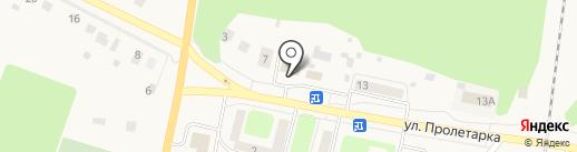 Продовольственный магазин на карте Куровского