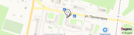 Дарос на карте Куровского