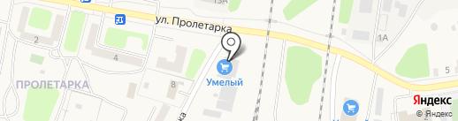Куровской на карте Куровского