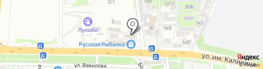 Для дома, дачи и ремонта на карте Краснодара