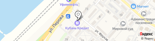 Банкомат, КБ Кубань кредит на карте Энема