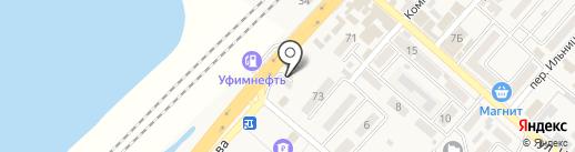 Бюро ритуальных услуг на карте Энема