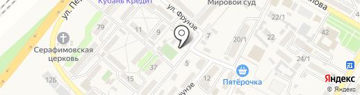 Муниципальный центр поддержки малого предпринимательства Тахтамукайскоого района на карте Энема