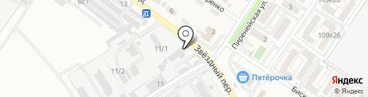 Спецавто на карте Краснодара