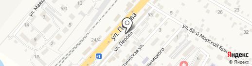 Магазин по продаже кормов и крупы на карте Энема