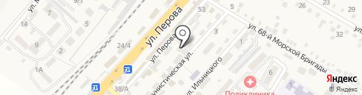 Магазин мужской и женской одежды на карте Энема
