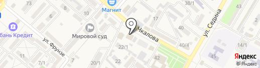Артдент на карте Энема