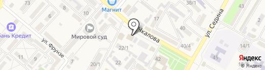 Банкомат, Почта Банк, ПАО на карте Энема