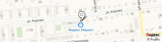 Продуктовый магазин на карте Куровского