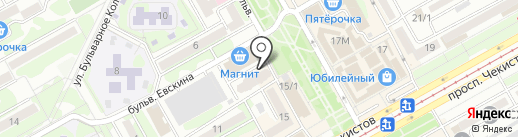 Оздоровительный центр Алексея Есипова на карте Краснодара