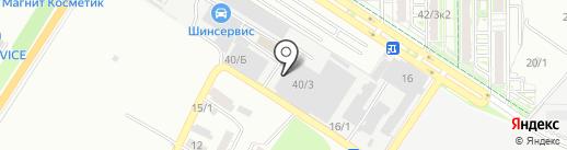 Сервисно-монтажная компания на карте Краснодара