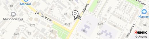 Страховая фирма на карте Энема