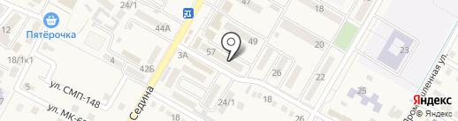 Юг-Стройград на карте Энема
