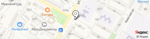 Магазин мясной продукции на карте Энема