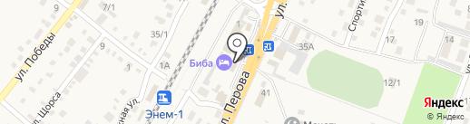 Comepay на карте Энема
