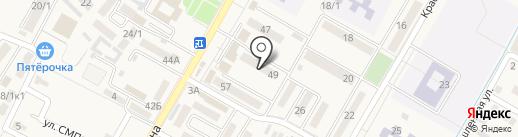 Швейное ателье на карте Энема