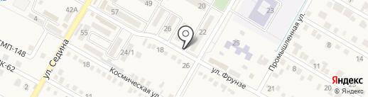 Василёк на карте Энема